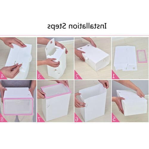 12Pcs Foldable Storage Stackable