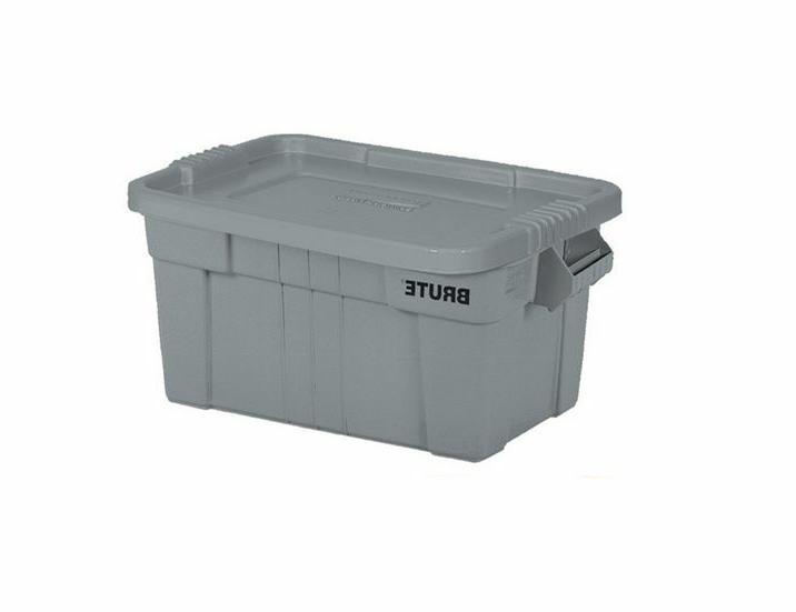 14 Gallon Rubbermaid Plastic Storage Container Organizer Cas
