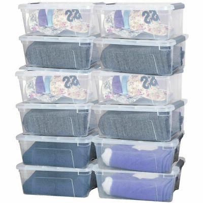 13Quart/ Liter 12 Pack Storage Handles