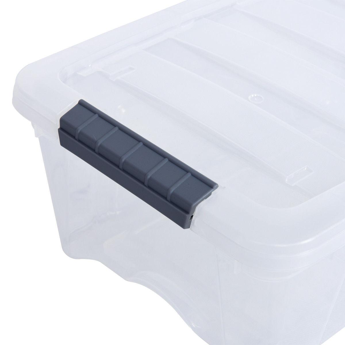 13Quart/ 12 Liter Pack Latch Box Tubs Bins Latches