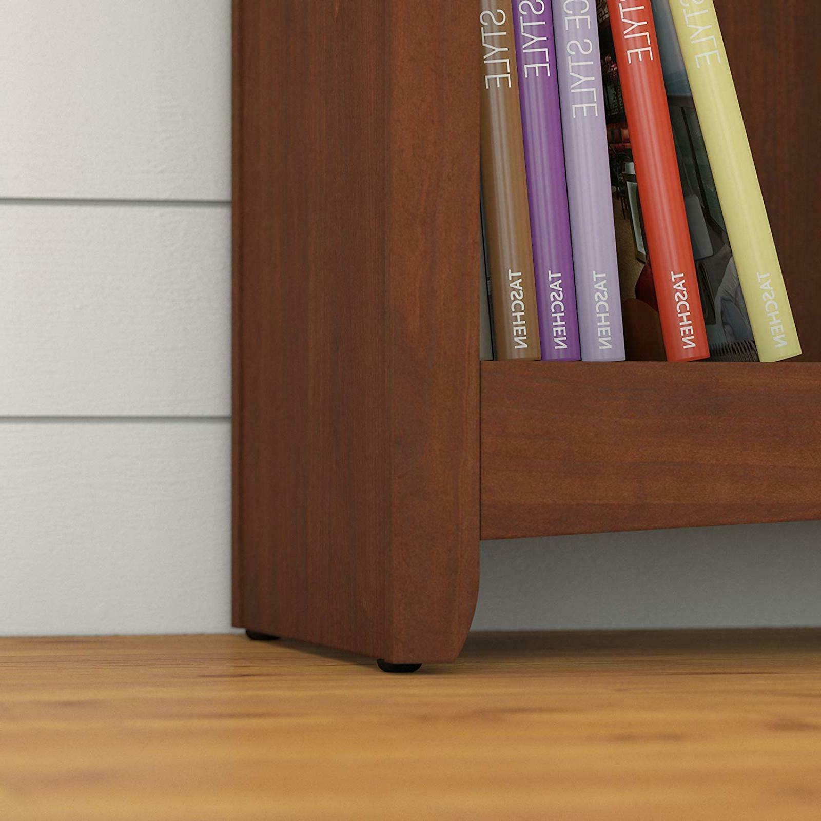 16 Wood Bookshelf Serene Cherry Home Decor Furniture