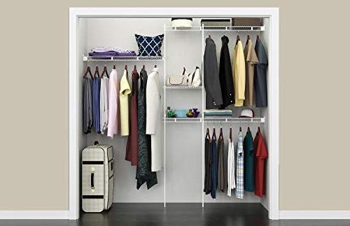 ClosetMaid 1628 Closet Kit, 5-Foot White