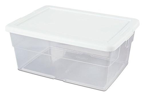 Sterilite #16448012 Box/WHT