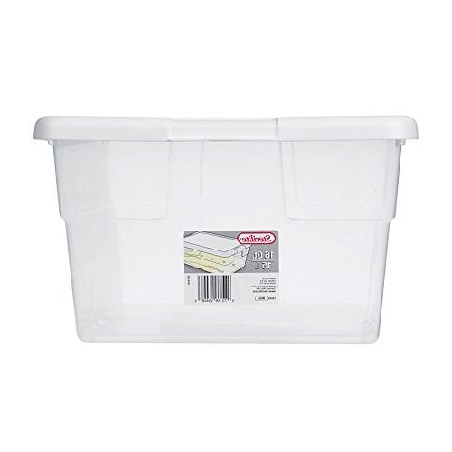 Sterilite Box/WHT Lid