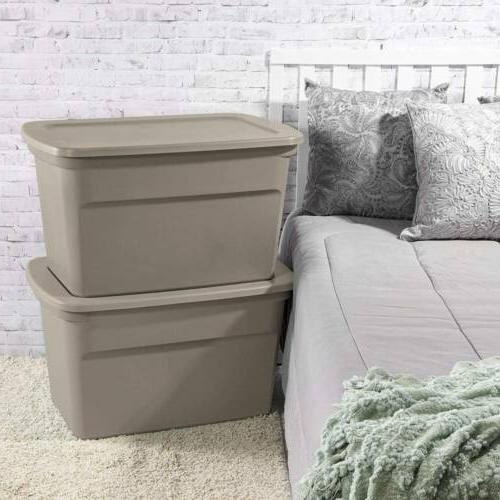 Sterilite 1736 Plastic 30 Gallon Container Duty