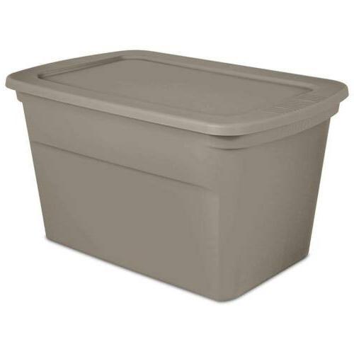 1736 plastic 30 gallon tote storage box