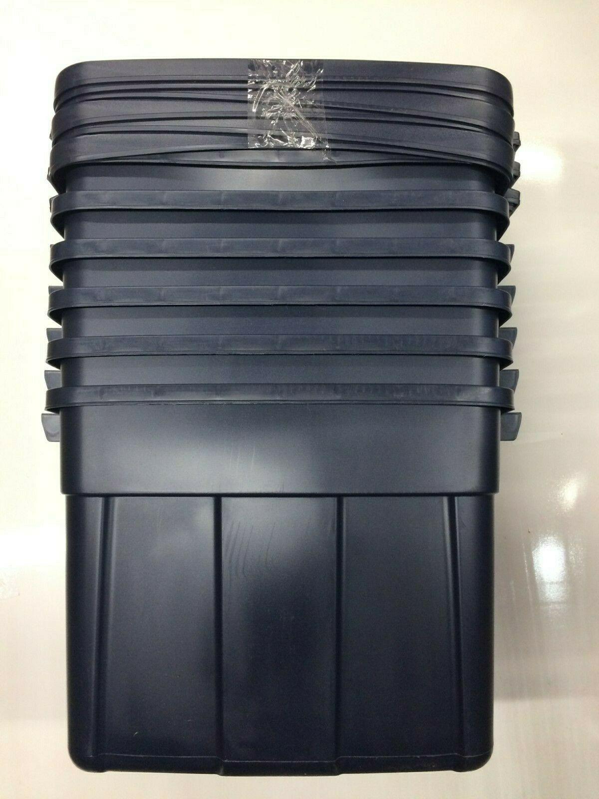 how big is an 18 gallon storage bin