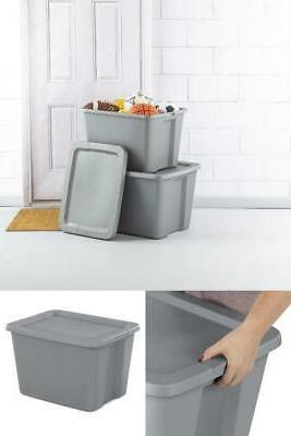 18 Case Pack Bin Plastic Stackable
