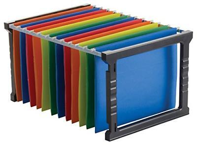 18 plastic hanging file folder frame legal