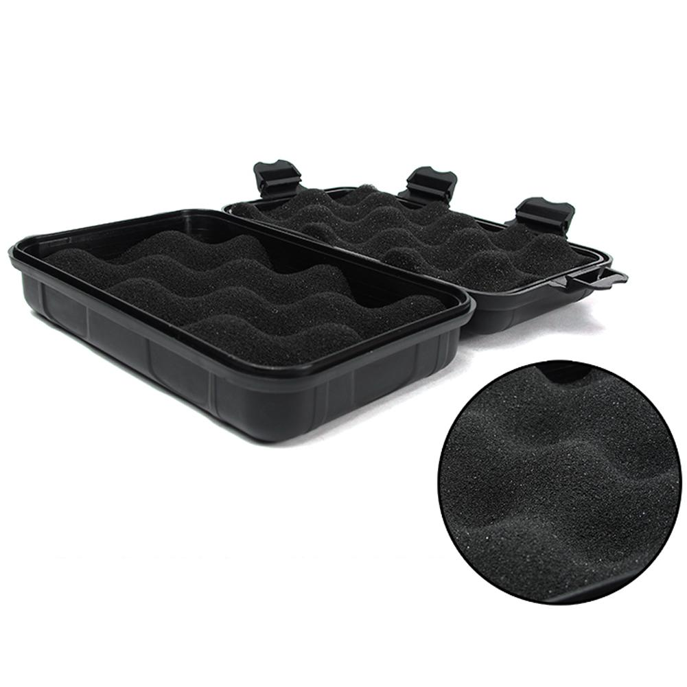 1PC Plastic Waterproof EDC Storage Case Carry Box