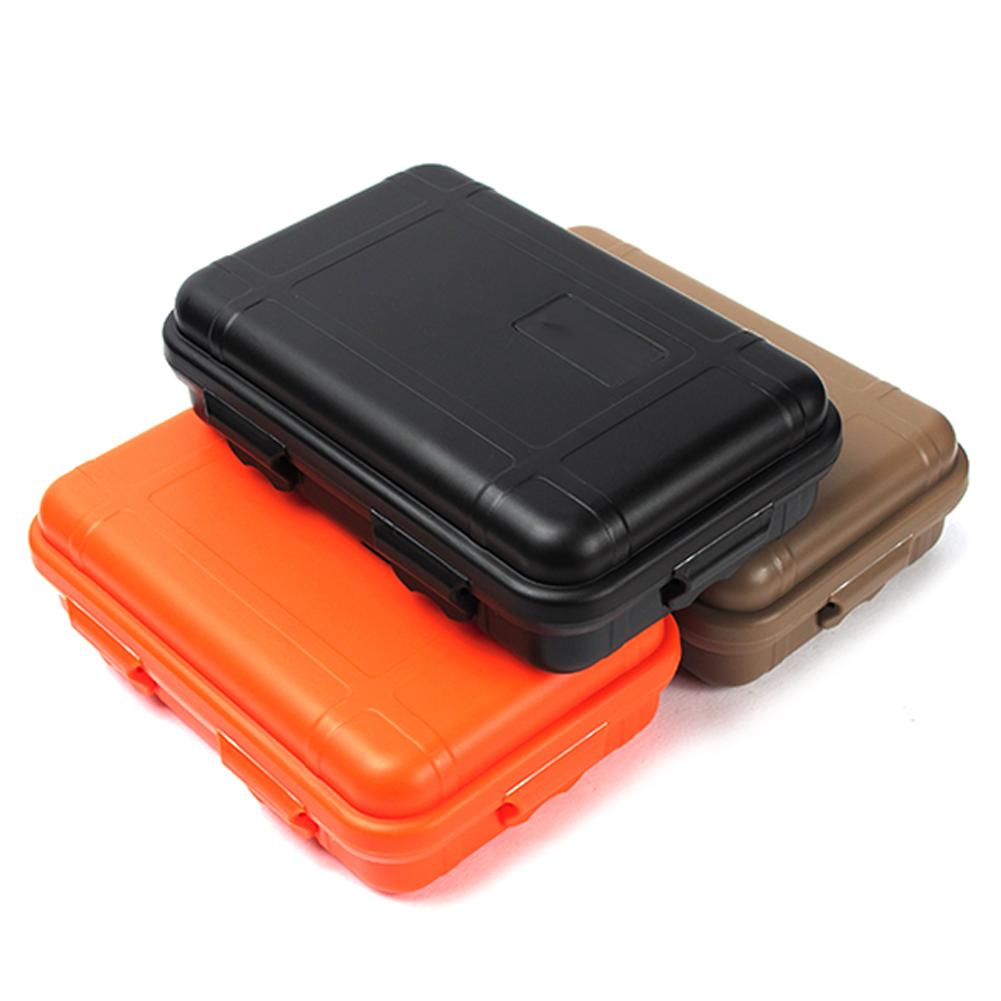 1pc plastic waterproof outdoor edc survival container