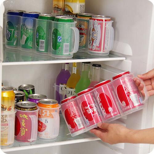 1x Refrigerator Storage Kitchen Space-saving Gadget