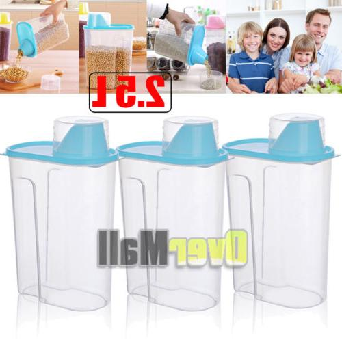 2.5L Cereal Grain Rice Storage Container