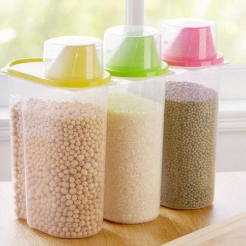 2.5L Kitchen Food Cereal Grain Bean Rice Storage Box Box Case