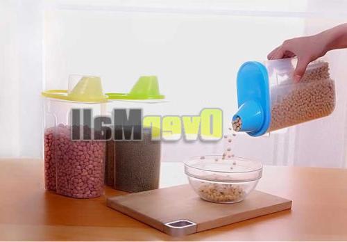 2.5L Kitchen Cereal Grain Storage Container Box Case