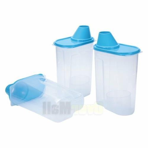 2.5L Plastic Food Cereal Bean Rice Storage Box Container Box Case