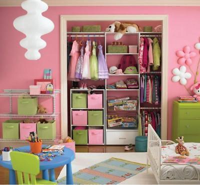 2-6PK Storage Kids Clothes Organizer