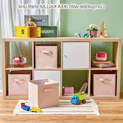 2-6PK Foldable Storage Box Clothes