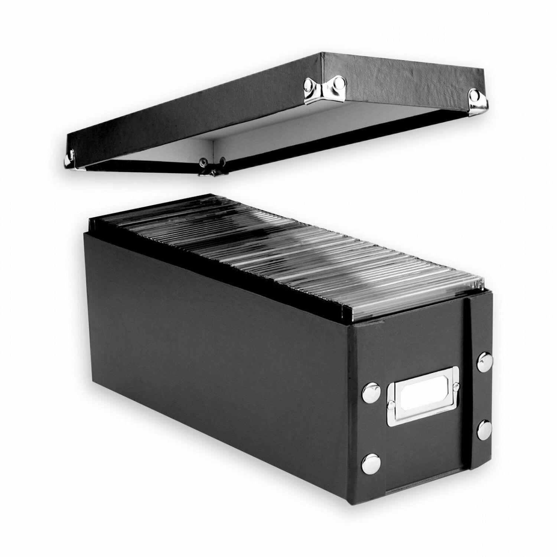 Box Disk Media Organizer Black