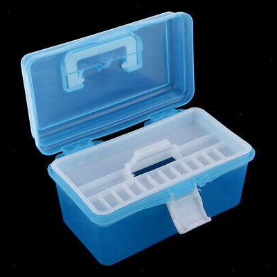 Clear Plastic Boxes Case Tray Craft Supply,Tool,