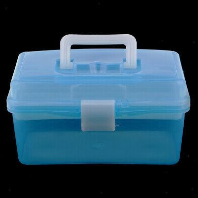 Clear Storage Case Tray for Craft Supply,Tool, kit
