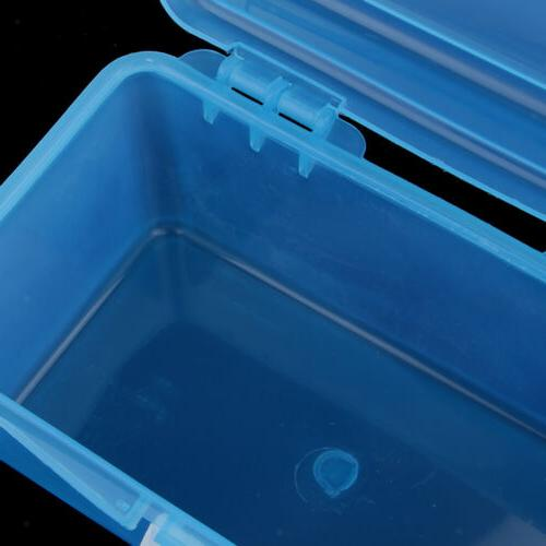 2 Clear Plastic Box Case for Craft kit