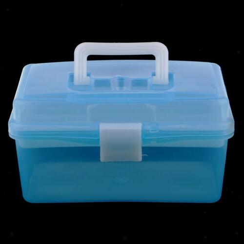 Clear Plastic Case Tray for Art Craft kit