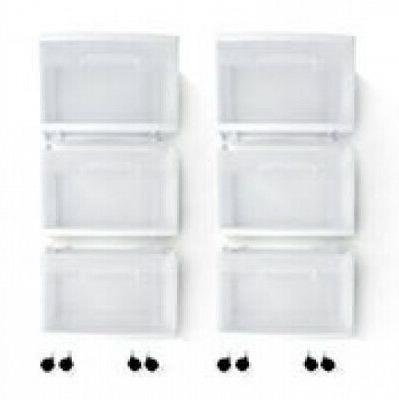 2 PACK Drawer Storage Sterilite Home Organizer Cabinet