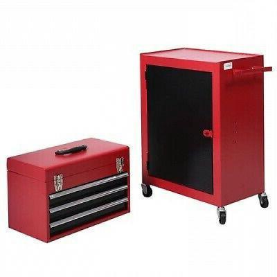2 Piece Mini Chest Storage Box Organizer