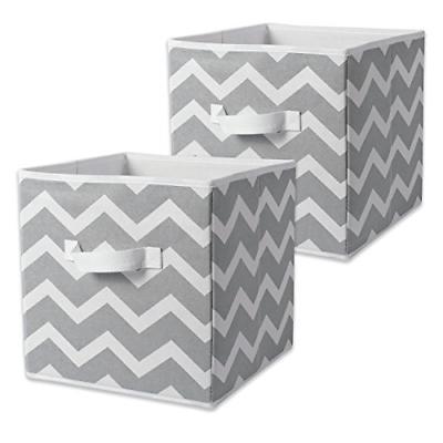2 set storage cube bin box basket