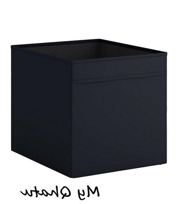 2 x drona storage box organizers black