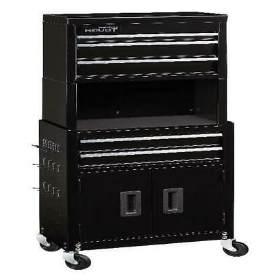 5 Drawer Rolling Cart Tool Storage Organizer Chest Cabinet C