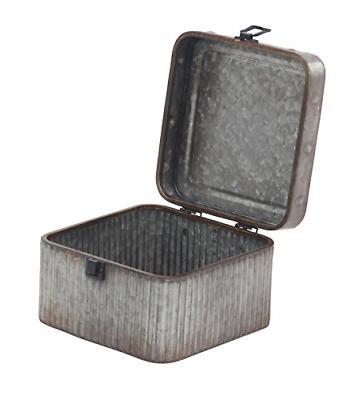 Deco 79 Box, Gray/Black