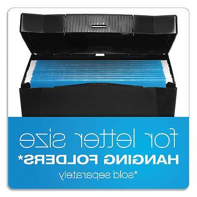 Pendaflex File Plastic, 14-7/8 x x 11-1/4, Black