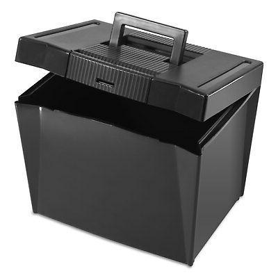 Pendaflex File Box, Plastic, 14-7/8 11-3/4 x 11-1/4,
