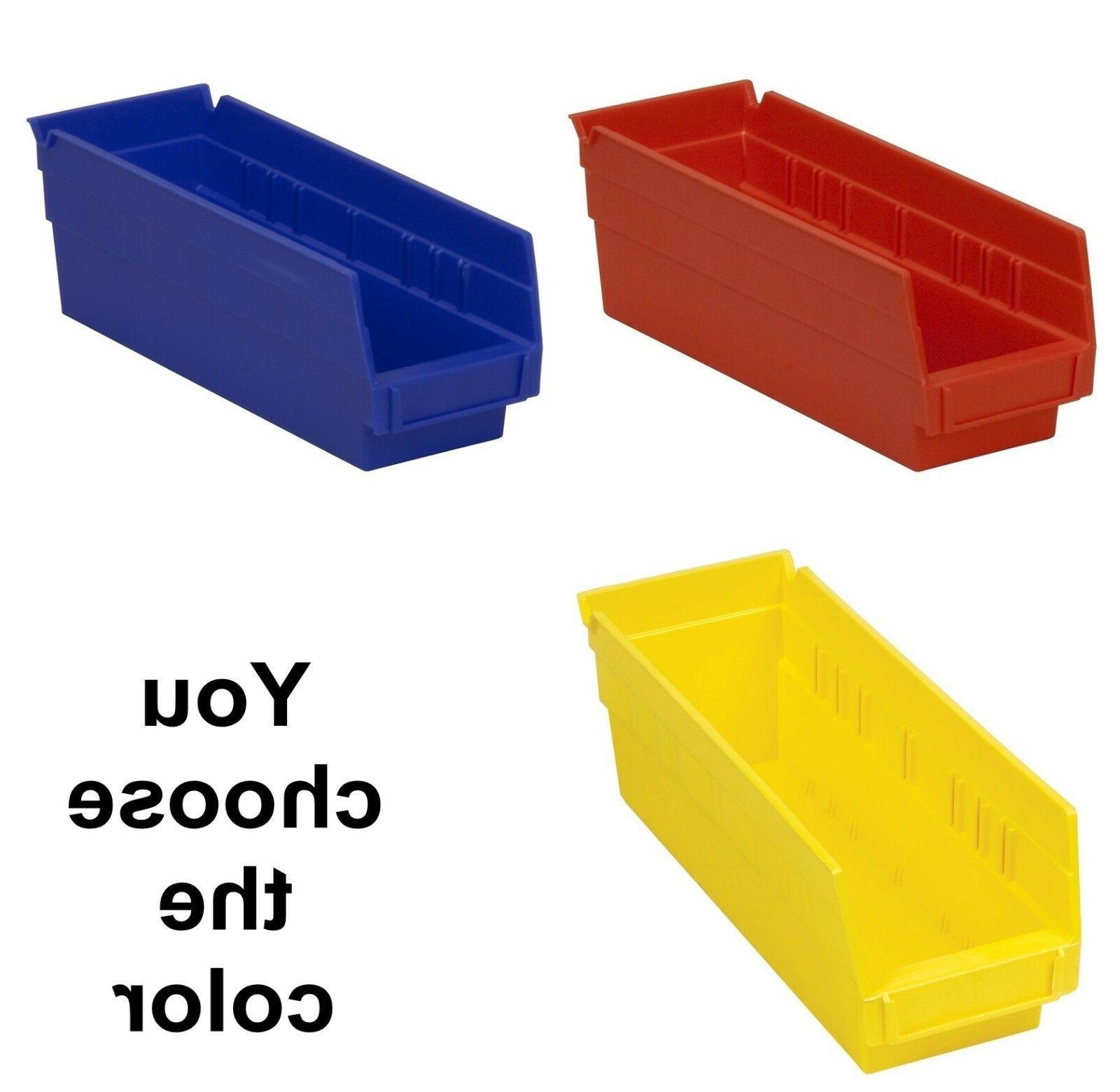 "24 Pack 11 5/8"" x 4 1/8"" x 4"" Plastic Inventory Storage Nest"