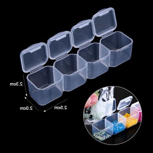 28 Plastic Organizer Jewelry Box Case