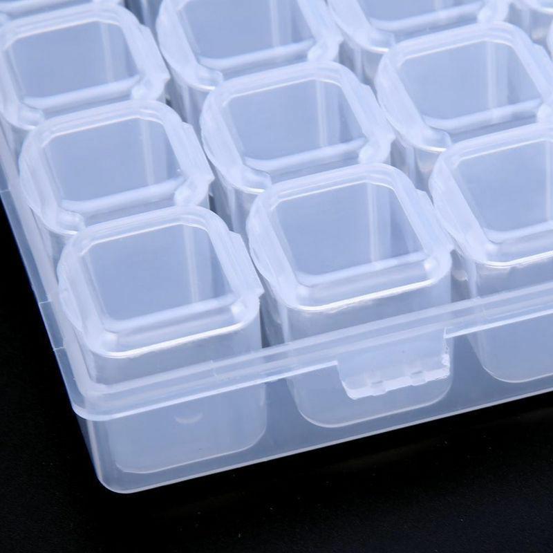 28 Jewelry Storage Box Case Organizer Adjustable