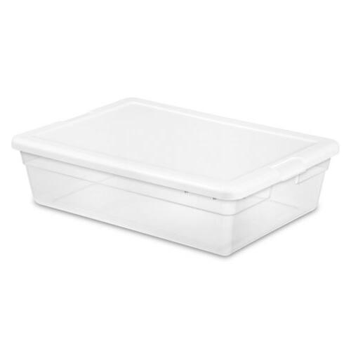28QT CLEAR STORAGE BOX 16558010