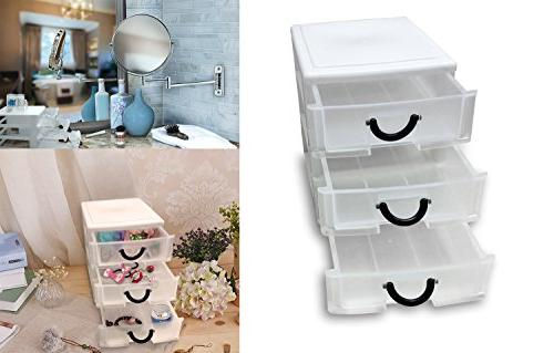 3 Drawer Set of with sewing, beading more