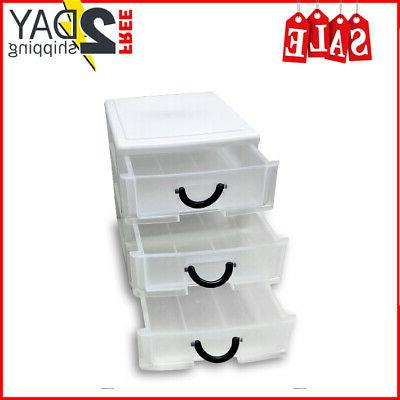 3 drawer plastic
