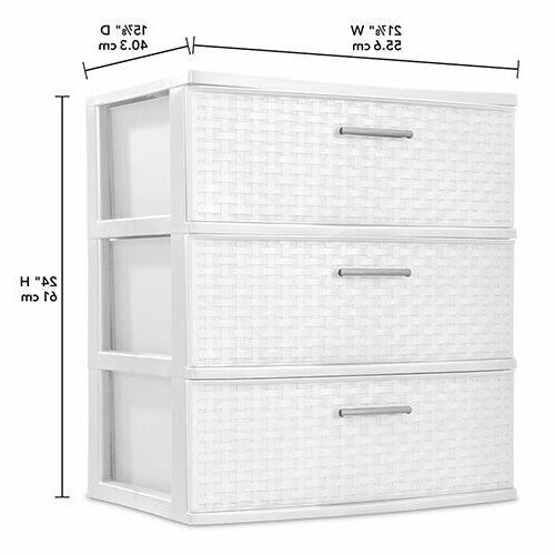3 Drawer Wide Unit, Container