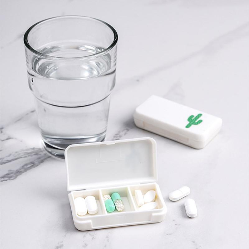 3 Medicine <font><b>Box</b></font> Organizer Case Pill for AM PM