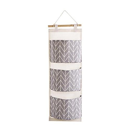 3 grids wall hanging storage