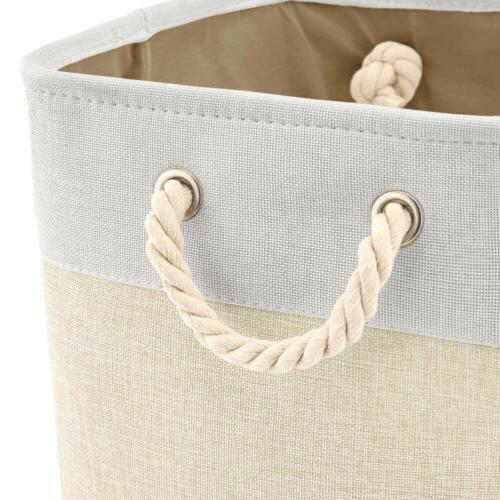 3 Storage Bins Basket boxes shelf