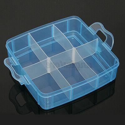 3 Jewelry Container Craft Organizer Case