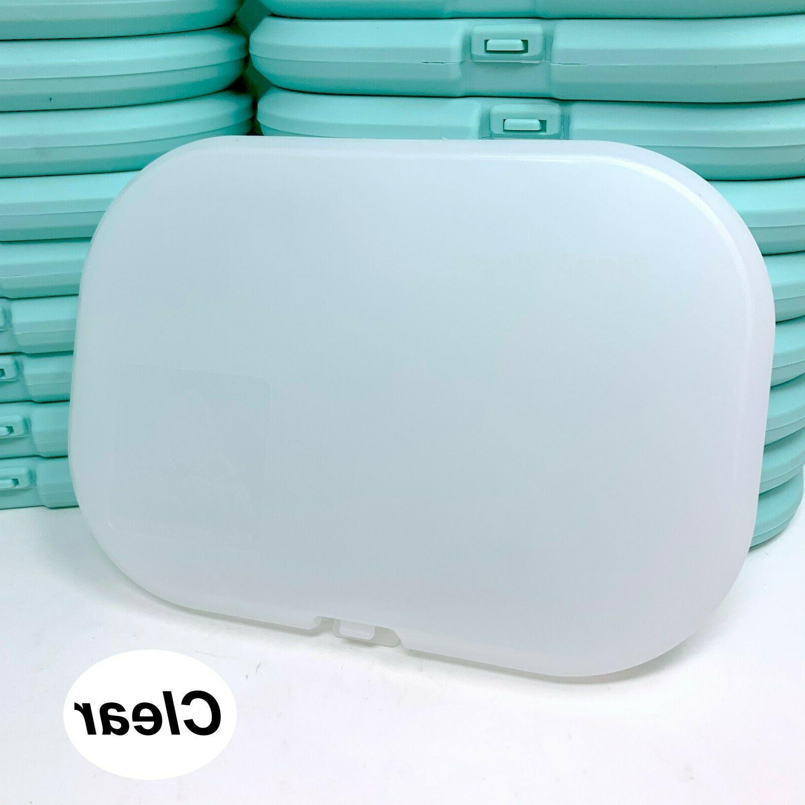 3 PCS Face Carrying Case Box Storage Protective Masks