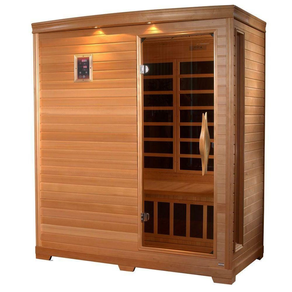 3 Person Sauna Room Box Heater Far