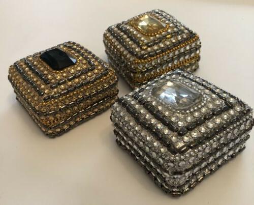 3 Trinket Jewelry Boxes