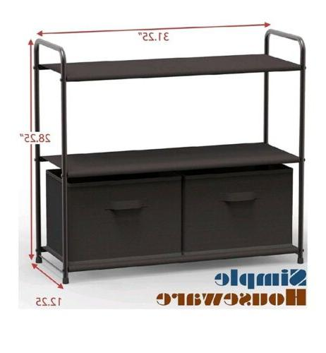 3 System Draws Entryway Shoe Rack NEW